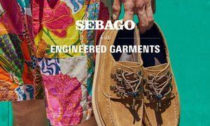 复古休闲感!Engineered Garments x Sebago 联名鞋款登场!