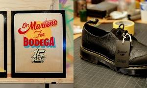高级优雅!Dr.Martens x Bodega 推出全新联乘鞋款!
