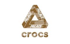 迷彩印花+贴图式装饰!PALACE x Crocs 联名曝光!