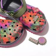 超酷炫扎染凉拖,Crocs新品凉鞋你值得拥有