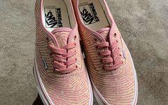指纹图案融入!Spunge x Vans Authentic 联名鞋款曝光!