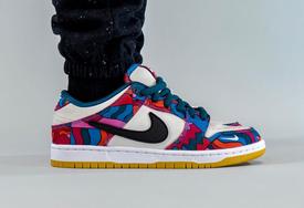 是熟悉的风格?Parra x Nike SB Dunk 上脚美照释出!