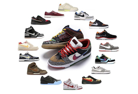 "SB Dunk Low ""What The"" 今早发售!原来设计灵感源于这些鞋!"