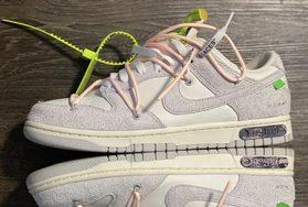 "规格颇高!Off-White x Nike Dunk Low ""12 of 50"" 首度曝光!"