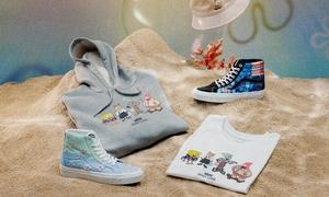 爱了爱了!Vans x 《海绵宝宝》联名鞋服系列下周登场!