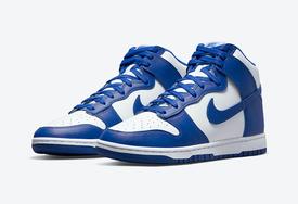 皇家蓝回归Nike Dunk系列!
