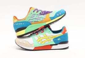 数一数鞋上一共有多少颜色! 全新 ASICS 复古跑鞋即将发售!