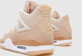 """粉粉嫩嫩!全新 Air Jordan 4 """"Shimmer"""" 实物图曝光!"""