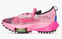 三款全新 OFF-WHITE x Nike Air Zoom Tempo NEXT% 联名鞋款即将发售!