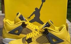 "Air Jordan 4 ""Lightning"" 即将复刻发售!"