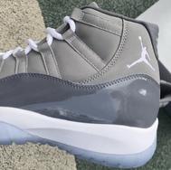 """今年的大魔王是它!全新复刻 Air Jordan 11 """"Cool Grey"""" 实物曝光!"""