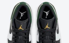 全新 Air Jordan 1 Low  红黑脚趾」、「绿黑脚趾」官图曝光!