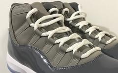 """年底「大魔王」 Air Jordan 11 """"Cool Grey"""" 实物图曝光"""