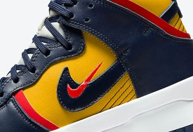 "全新 Nike Dunk High Rebel ""Michigan"" 官图曝光!"