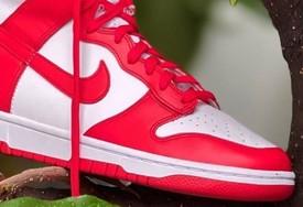 "全新 Nike Dunk High""University Red"" 实物图曝光!"