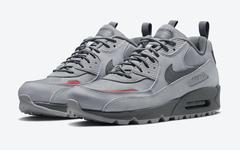 "全新 Nike Air Max 90 Surplus ""Wolf Grey"" 官图曝光!"