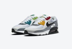 "全新 Nike Air Max 90 ""Peace,Love,Swoosh"" 官图曝光!"