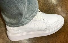 权志龙上脚全新 PEACEMINUSONE x Nike Kwondo 1 鞋款!