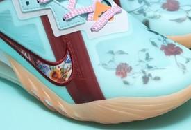 """全新 Nike LeBron 18 Low """"Floral""""  实物图曝光!"""