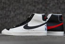 "全新 NBA x Nike Blazer Mid ""75th Anniversary""  实物图曝光!"