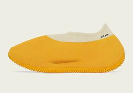 """全新 adidas Yeezy Knit Runner """"Sulfur"""" 官图曝光!"""