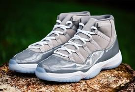 """全新 Air Jordan 11 """"Cool Grey"""" 实物上脚图曝光!"""