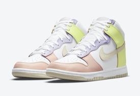 "全新 Nike Dunk High ""Cashmere""  官图曝光!"