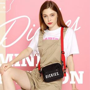 Dickies迪克斯mini男女情侣款印花拉链斜挎小包