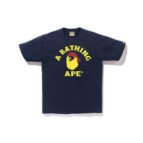 BAPE 海盗款 小猿人头T恤