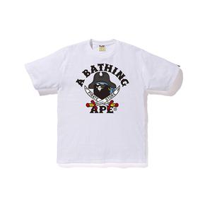 BAPE 海盜款 雙刀小猿人頭T恤