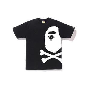 BAPE 海盗款 侧面大猿人头T恤