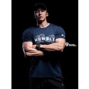 限时满赠!Monster Guardians男子新品运动健身休闲印花短袖宽松T恤透气MSGD
