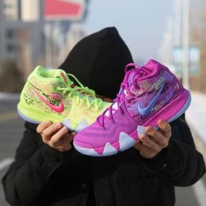 Nike Kyrie 4 欧文4代 彩紫鸳鸯 篮球鞋 AJ1691-900
