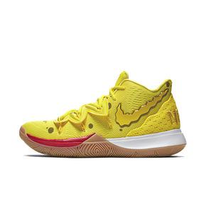 Nike Kyrie 5 x Spongebob 欧文5 海绵宝宝联名 CJ6951-700(2019.8.10发售)