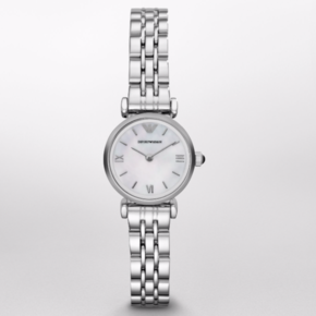 Armani阿玛尼 潮流休闲腕表 小巧简约小表盘手表女AR1763