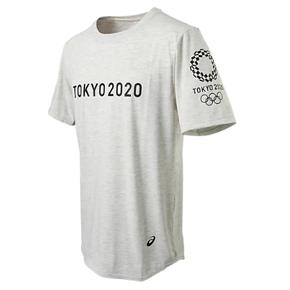 秒杀!ASICS亚瑟士 2020东京奥运T恤短袖 酷灰 XA298X-01