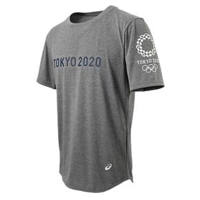 秒杀!ASICS亚瑟士 2020东京奥运限定T恤短袖 灰色 XA298X-12