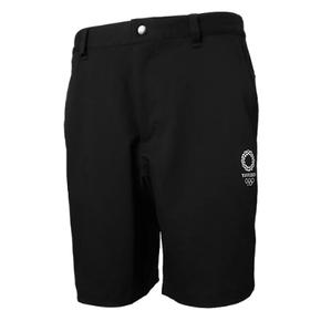 秒杀!ASICS亚瑟士 2020东京奥运限定夏季休闲短裤 黑色 XA302X-90