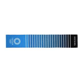 秒殺!ASICS亞瑟士 2020東京奧運限定毛巾 藍色 XA304X-45