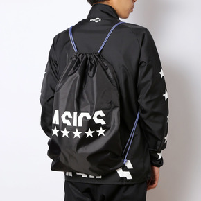 秒杀!ASICS亚瑟士 运动健身包 黑色 EB015X-90