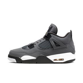 美国直邮!Air Jordan 4 Cool Grey AJ4 酷灰麂皮 灰老鼠 篮球鞋308497-007