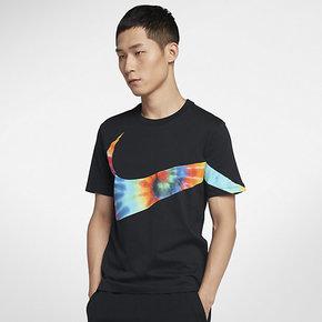 Nike耐克SUMMER BIG SWOOSH男子短袖T恤CI9348-010
