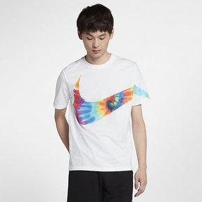 Nike耐克SUMMER BIG SWOOSH男子短袖T恤CI9348-100
