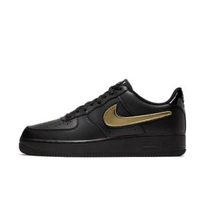 美国直邮!Nike Air Force 1 AF1魔术贴换勾金铜银三色CT2252-001