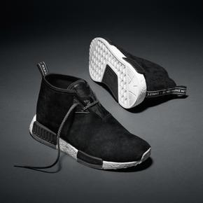 断码特惠!Adidas NMD Chukka Boost 黑色 S79146