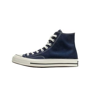 Converse匡威 1970s三星标暗夜蓝色高帮低帮男女帆布鞋164945C