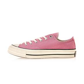 Converse匡威1970s三星标粉色低帮帆布鞋164952c