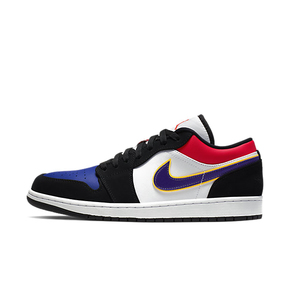 Air Jordan 1 Low Top3 AJ1湖人黑蓝低帮鸳鸯CJ9216-051