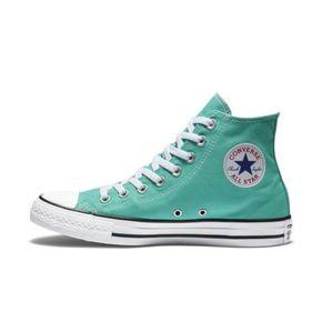 Converse all star经典纯色高帮透气休闲帆布鞋161416F