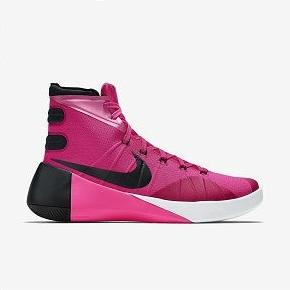 588元秒杀!Nike Hyperdunk 2015 乳腺癌配色  749562-606